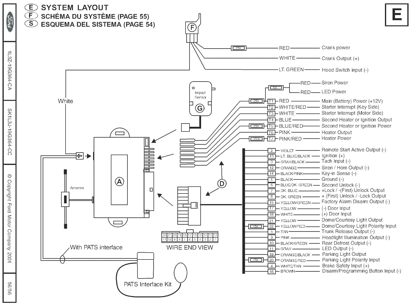 Viper Remote Start Wiring Diagram Inside pustar For Auto To