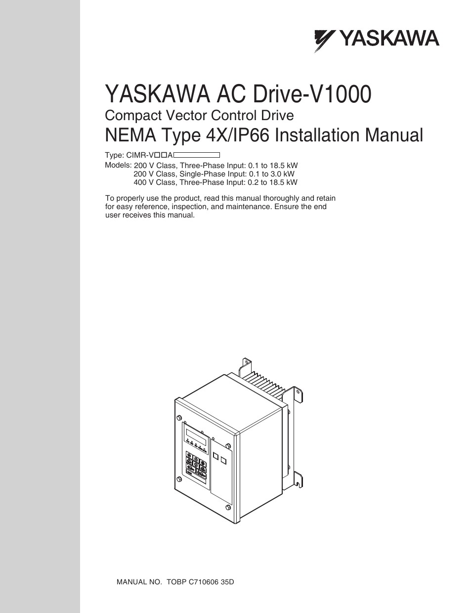 Yaskawa v1000 wiring diagram 4k wiki wallpapers 2018 yaskawa v1000 nema type 4x ip66 user manual 56 pages within wiring john deere 35d wiring asfbconference2016 Image collections