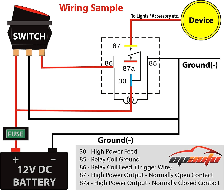Headlight Relay Wiring Diagram