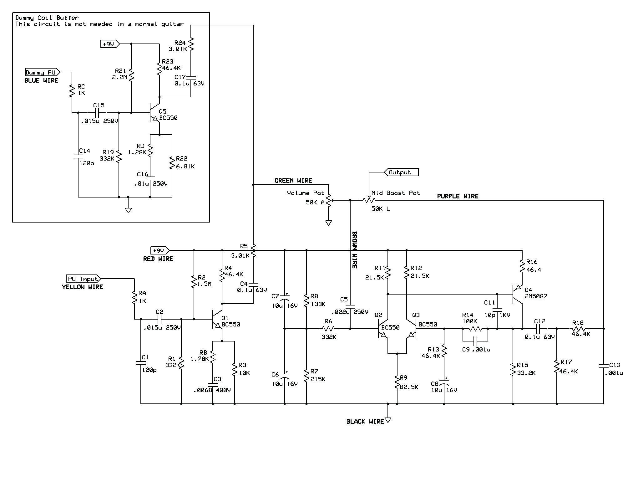 Rickenbacker 4003 Wiring Diagram 6 Wiring Diagram