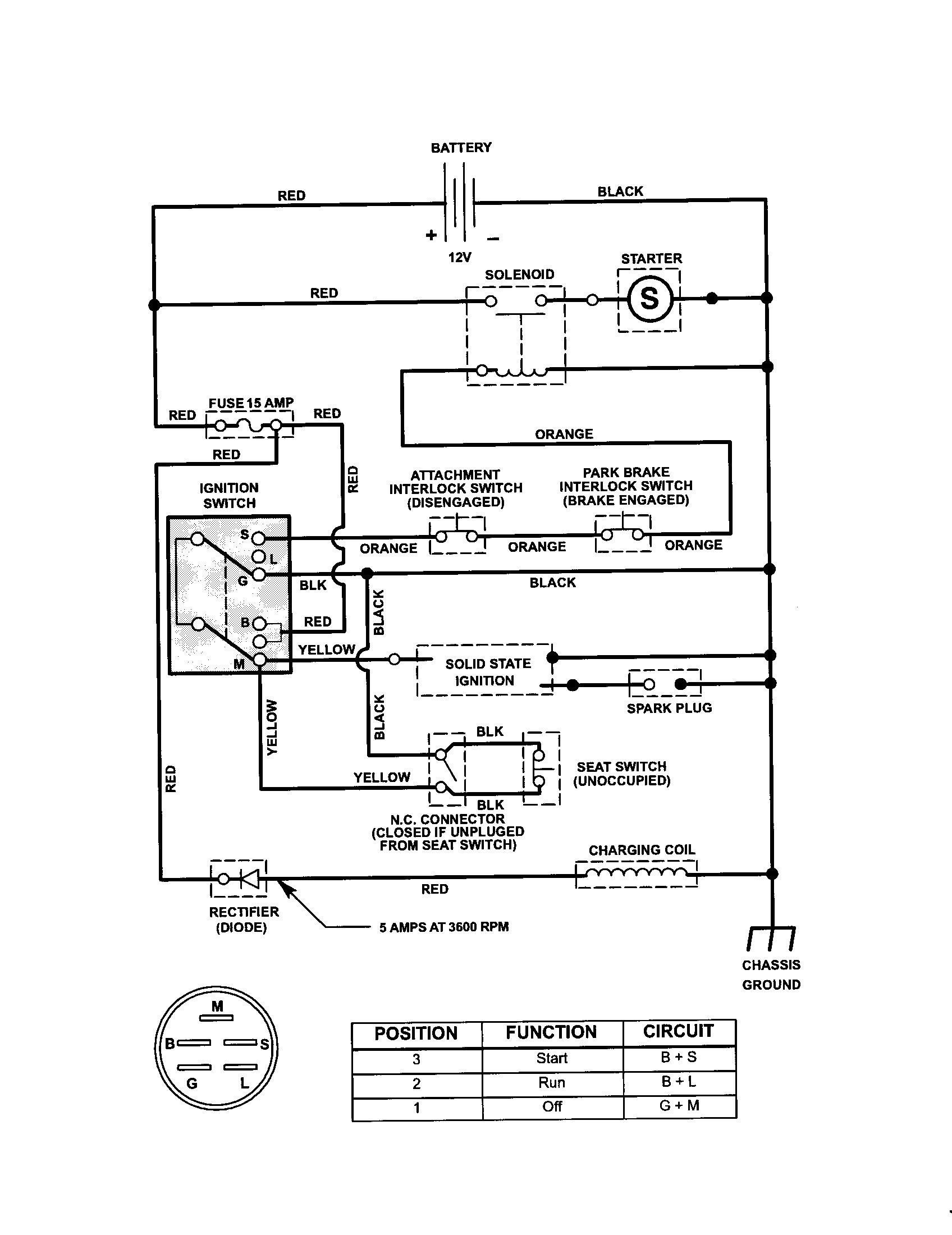 Wiring Diagram for Craftsman Riding Lawn Mower Lovely Craftsman Riding Mower Electrical Diagram
