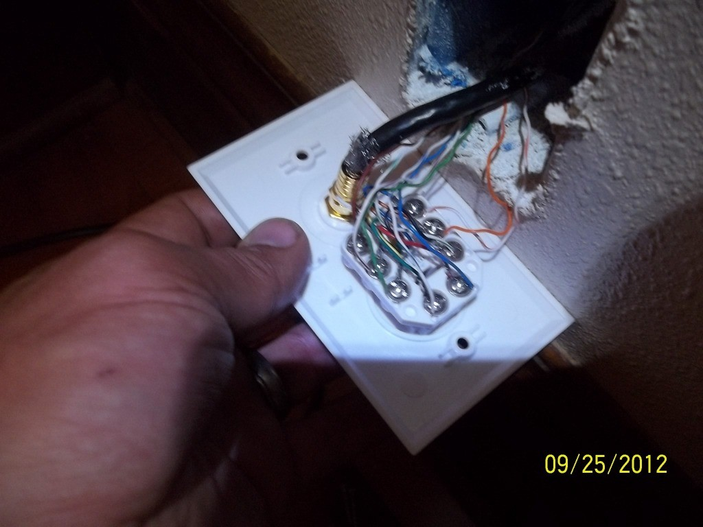 Cat5 Wall Socket Wiring Diagram Uk Jack Network Outlet Telephone