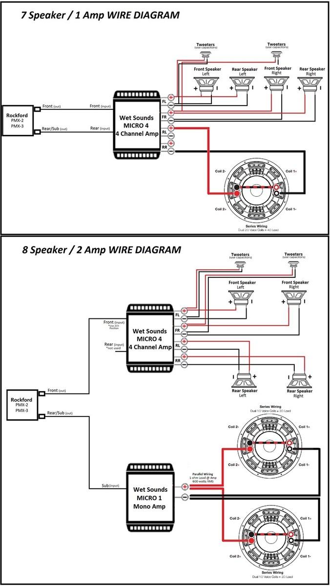rockford fosgate subwoofer wiring wizard wiring solutions rh rausco com rockford fosgate speaker wiring diagram rockford fosgate capacitor wiring diagram