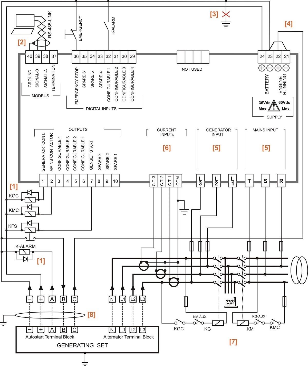 Auto Transfer Switch Wiring Diagram