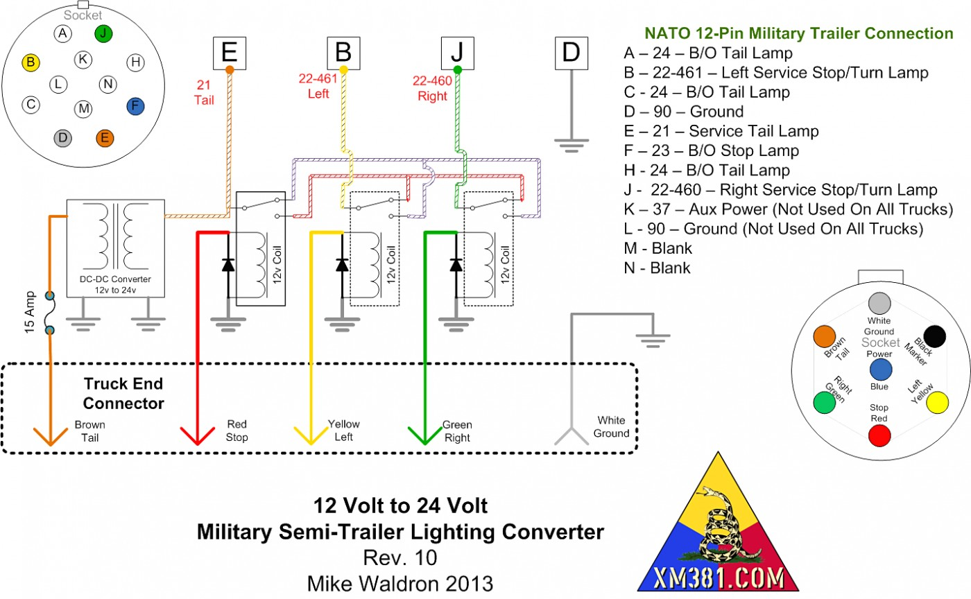12n Trailer Plug Wiring Diagram 12n 12s wiring diagram Wiring Diagram