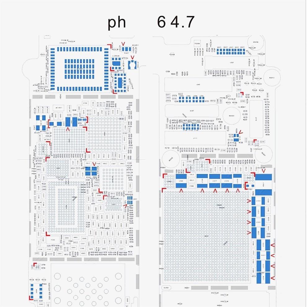 Schematic 5S Diagram Searchable PDF For IPhone 6 6p 5s 5c 5 4s 4 PDF