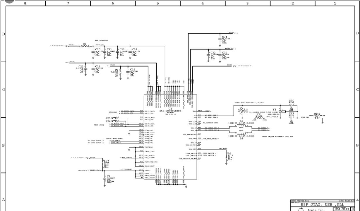 Apple iPhone 5 schematic diagram service manual