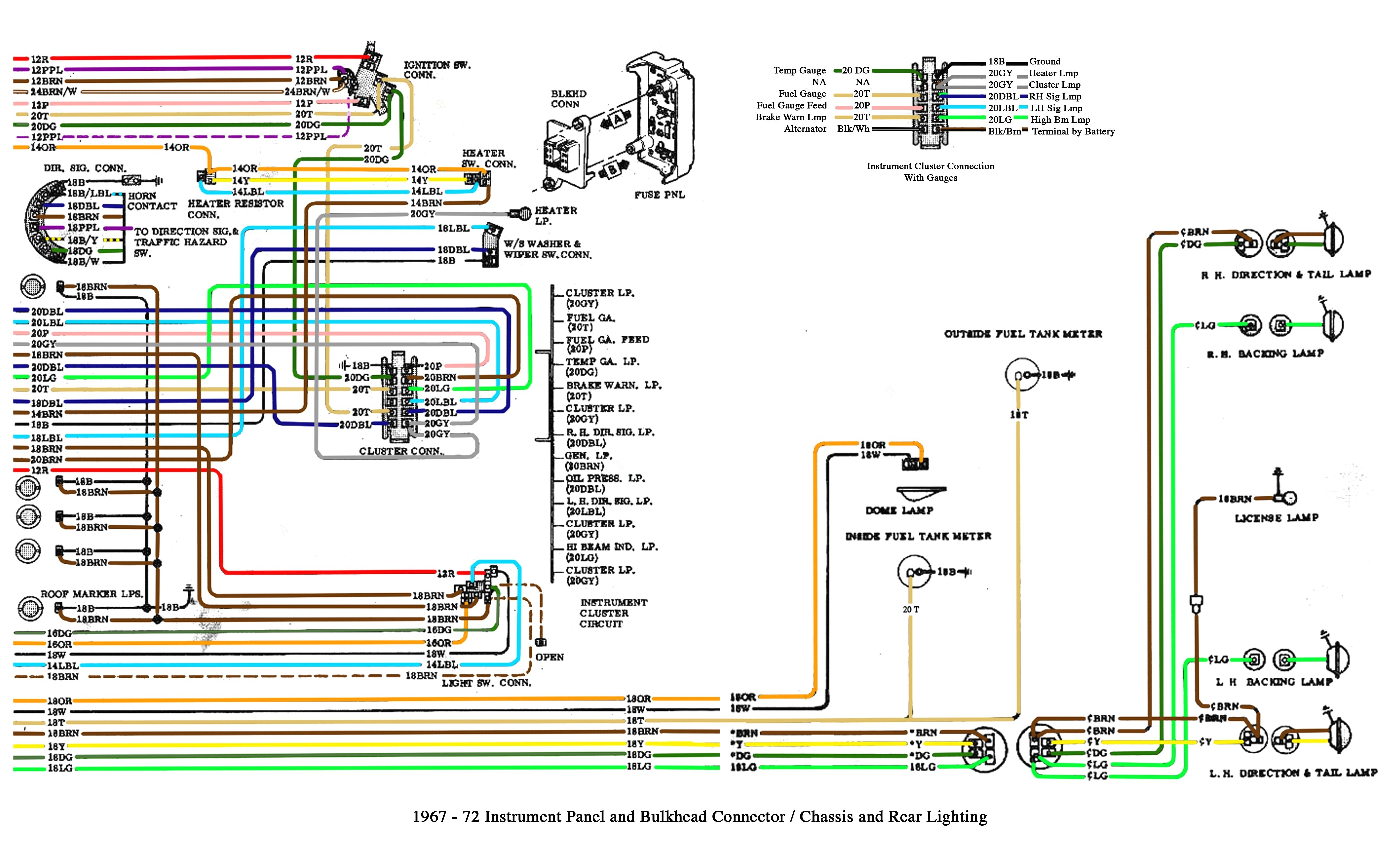 Ta a Wiring Diagram Chevy Truck Tail Light Free Silverado Radio 2013 Fog Toyota Stereo Full