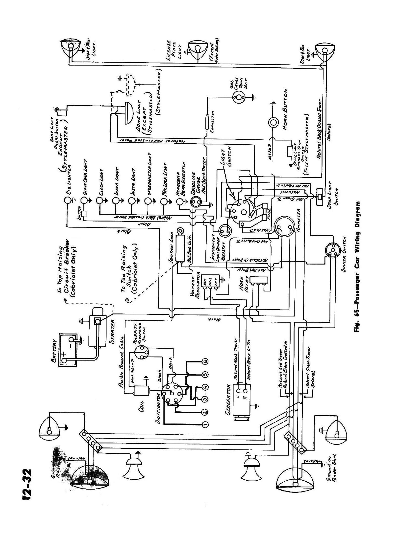 1945 Passenger Car Wiring