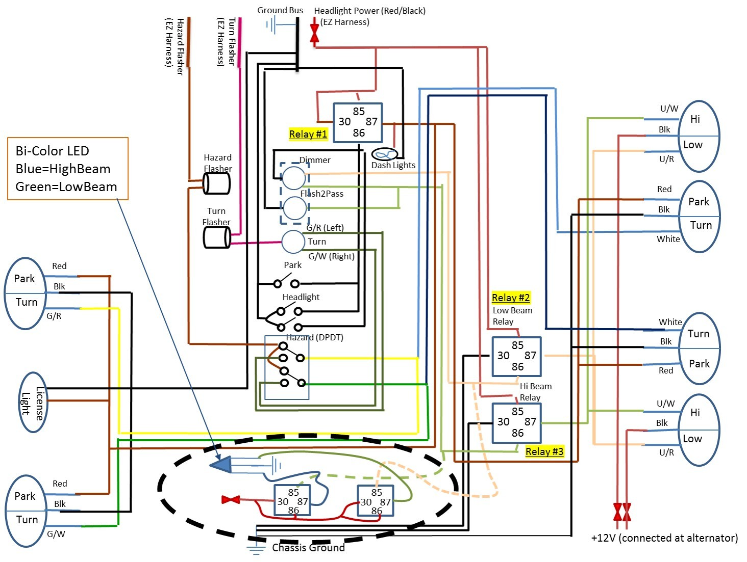 Relay Could Use Some Help What Should Be A Simple LED Wiring Exceptional Car Light