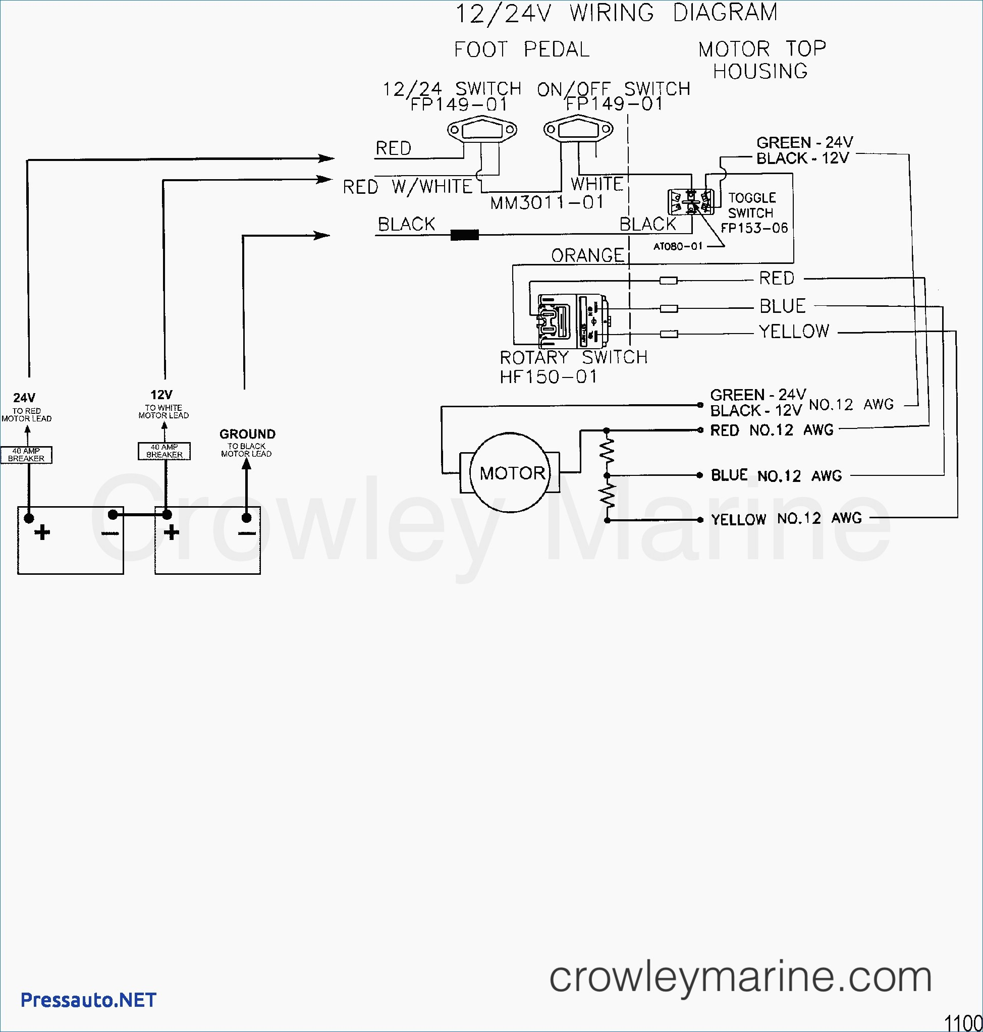 Great 24 Volt Trolling Motor Wiring Diagram 68 For Your Also afif