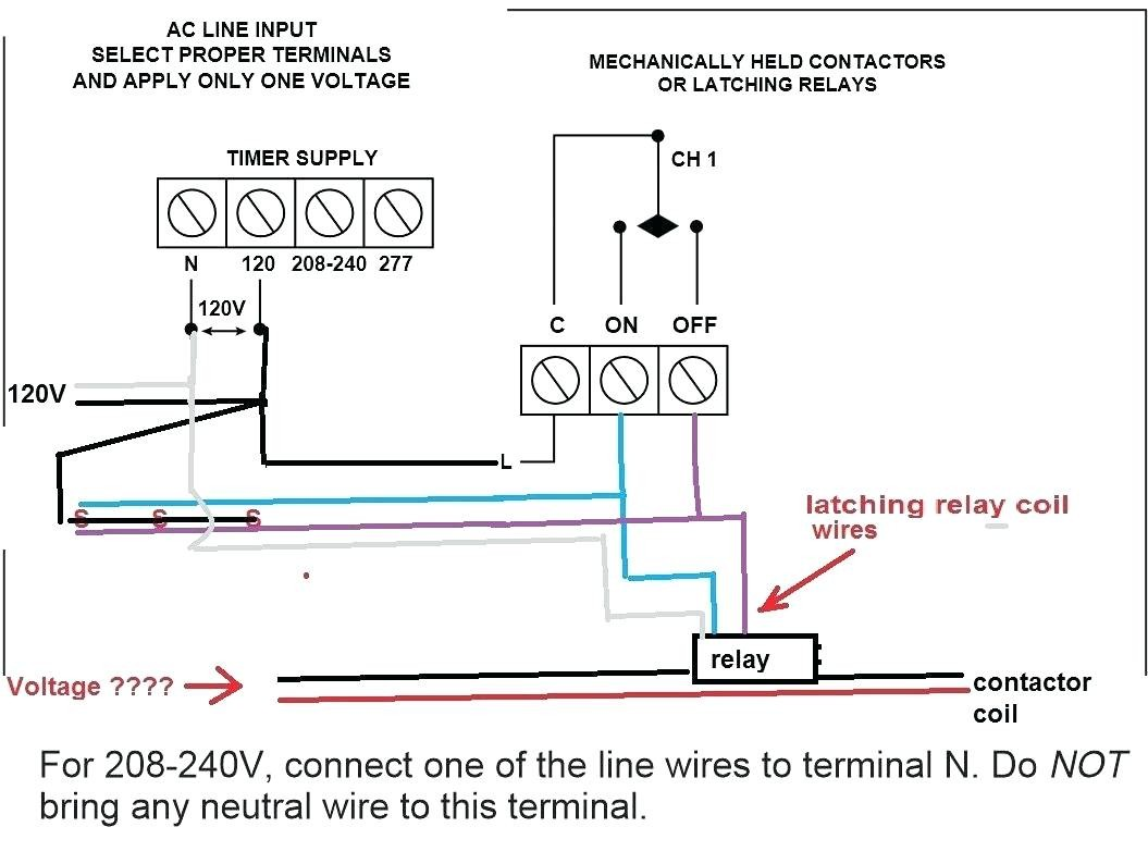 cell Lighting Wiring Diagram New Contactor D