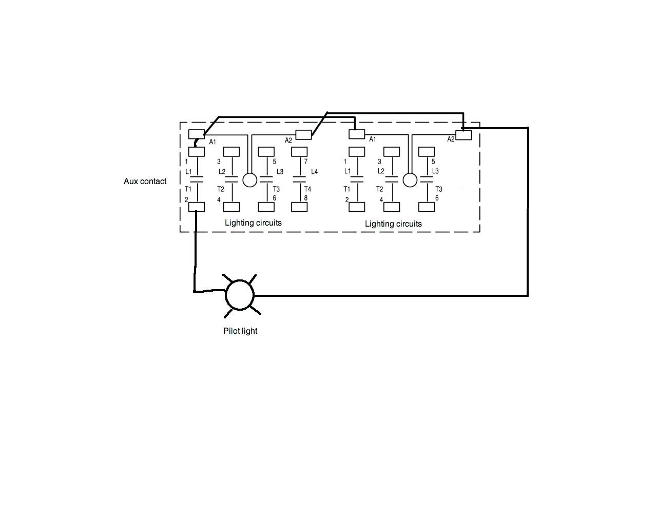 fortable Electric Contactor Wiring Ideas Wiring Diagram Ideas