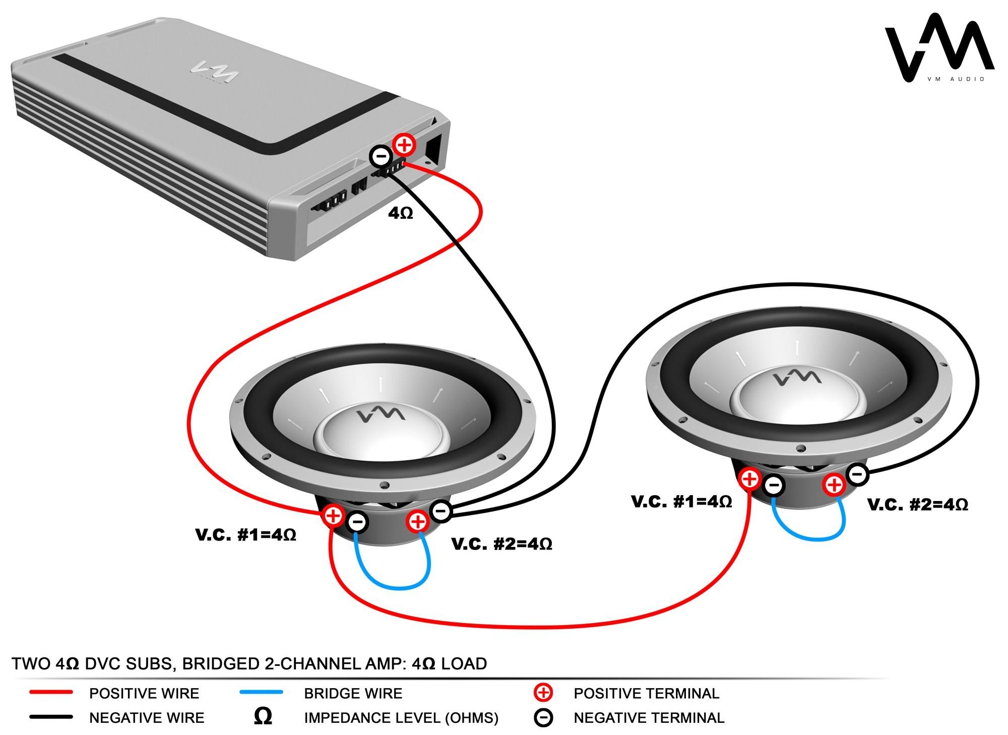 Trend 4 Ohm Dual Voice Coil Subwoofer Wiring Diagram 83 6 Ideas