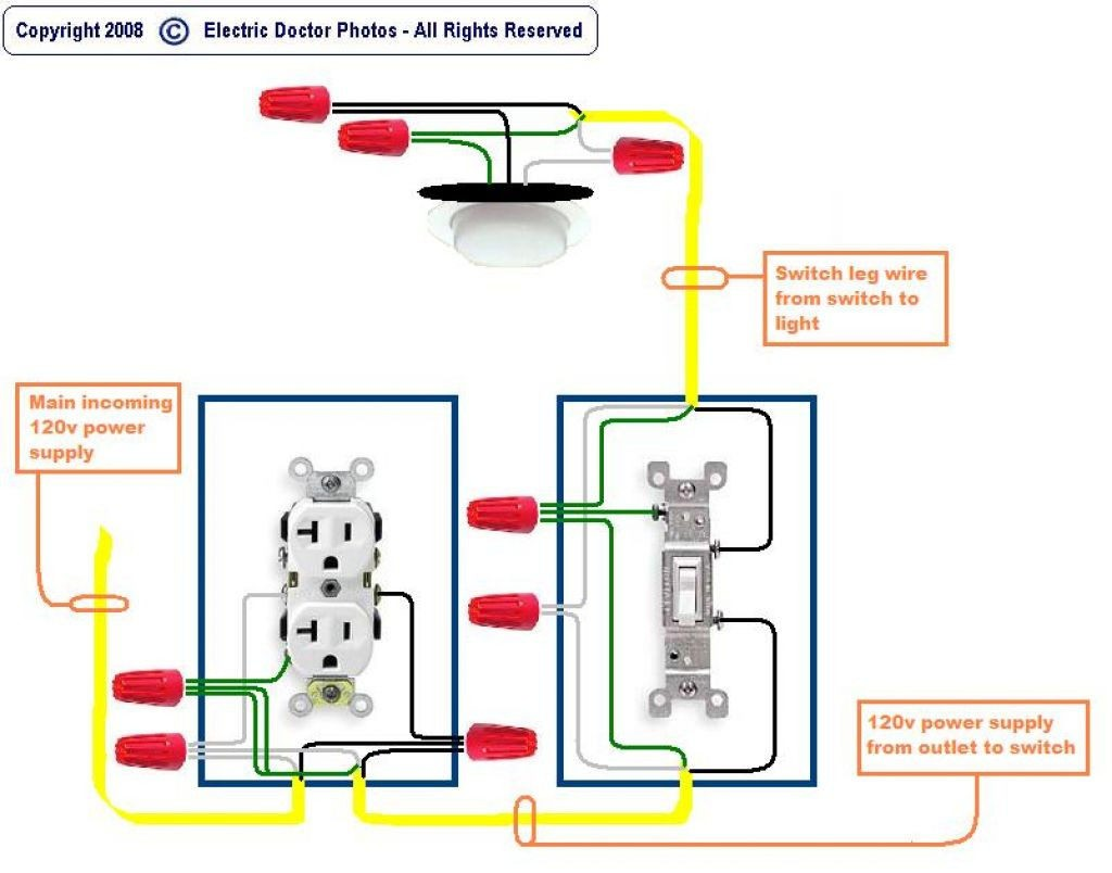 Switch Leg Wire - Wiring Diagram on double light switch diagram, electrical outlet switch diagram, light switch outlet combo wiring-diagram, light with outlet wiring diagrams, wire light switch from outlet diagram, light switch to outlet wiring diagram, light switch and receptacle combo, light switch and outlet combination, light switch junction box wiring outlets, 3-way light switch outlet diagram, light switch electrical wiring outlet, light switch and outlet combo, light switch circuit diagram, switched outlet diagram, wall outlet diagram, light switch with outlet, light switch wiring power to light,