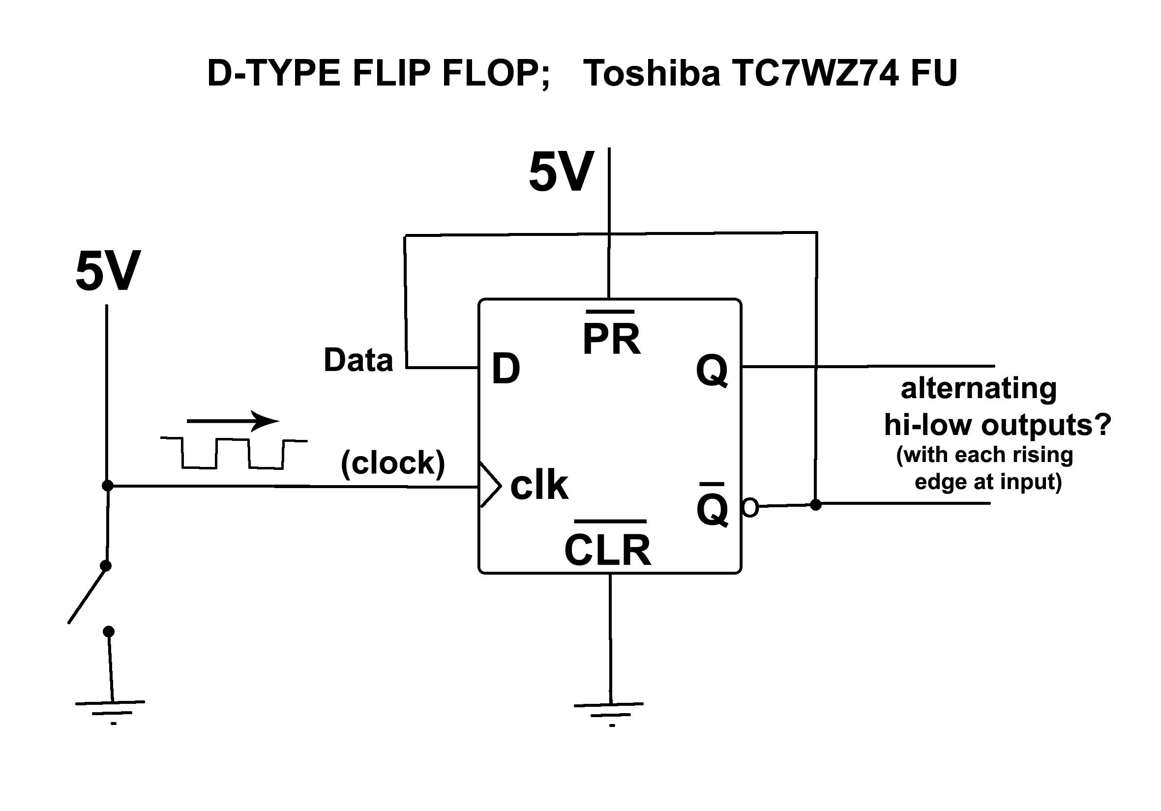 Simple Flip Flop Wiring For Audio Ab Channel Switch switching voltage regulator breakdown voltage