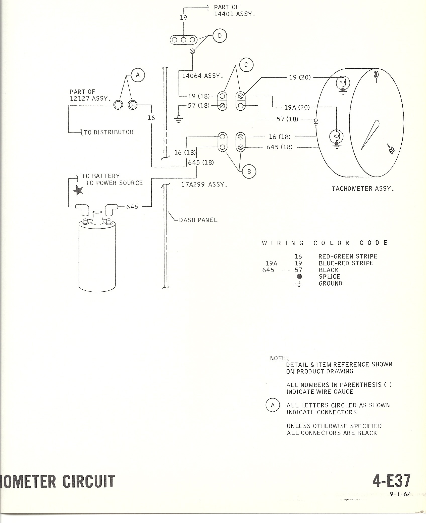1967 Mustang Wiring To Tachometer Awesome Collection Tach Wiring