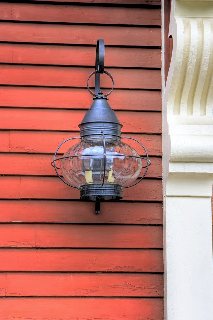 Northeast Lanterns offer high quality solid brass and copper lighting fixtures