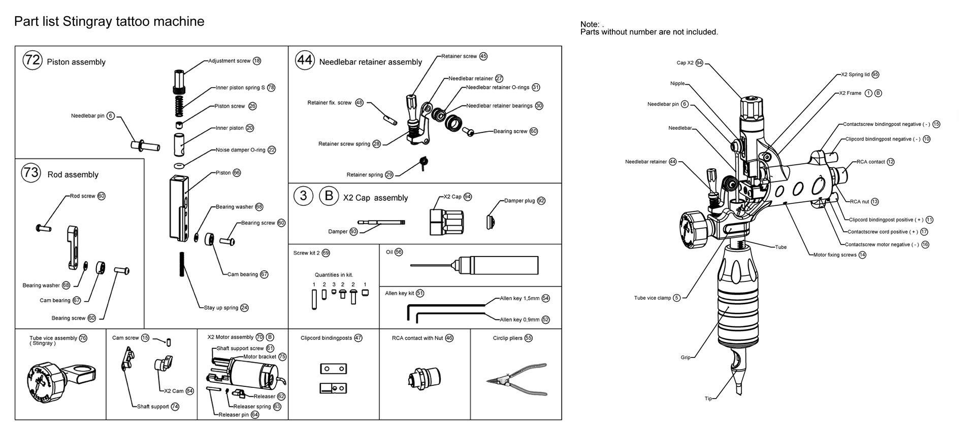 Tattoo Machine Wiring Diagram Power Supply Spare Parts Inkmachines Symbols Free Diagrams Dimension 1920