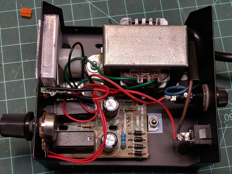 Tattoo power supply original AC wiring