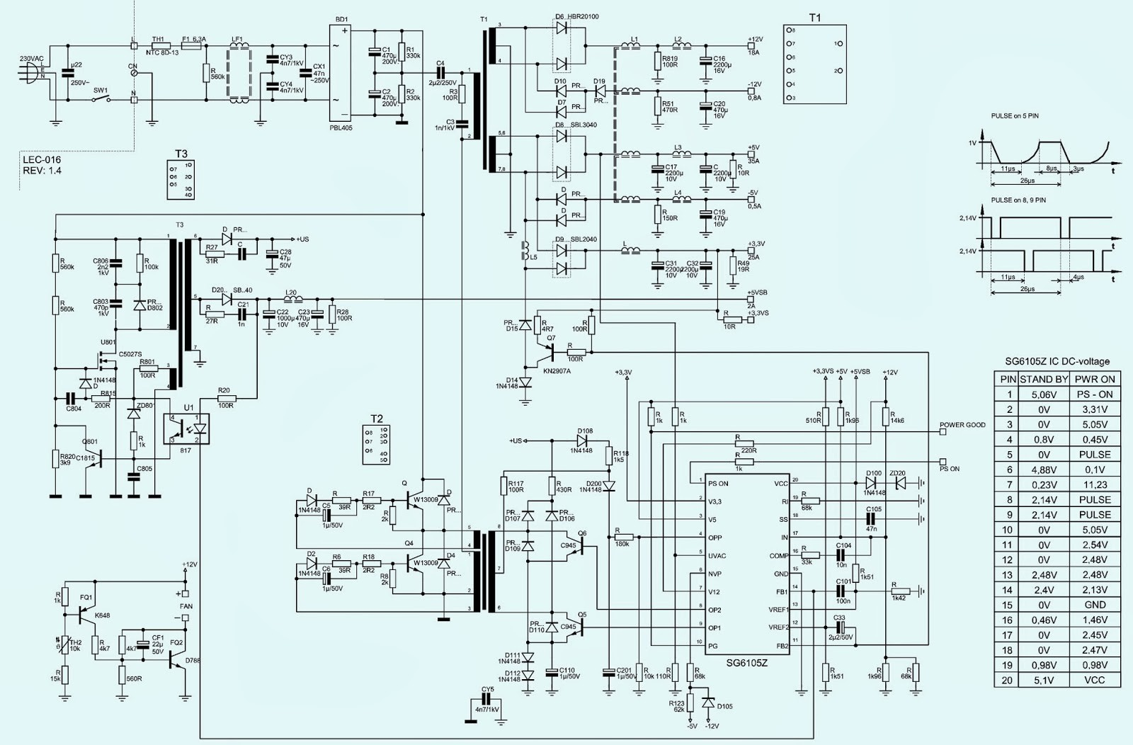 Atx Power Supply Wiring Diagram For Vehicle Application - WIRE Center •