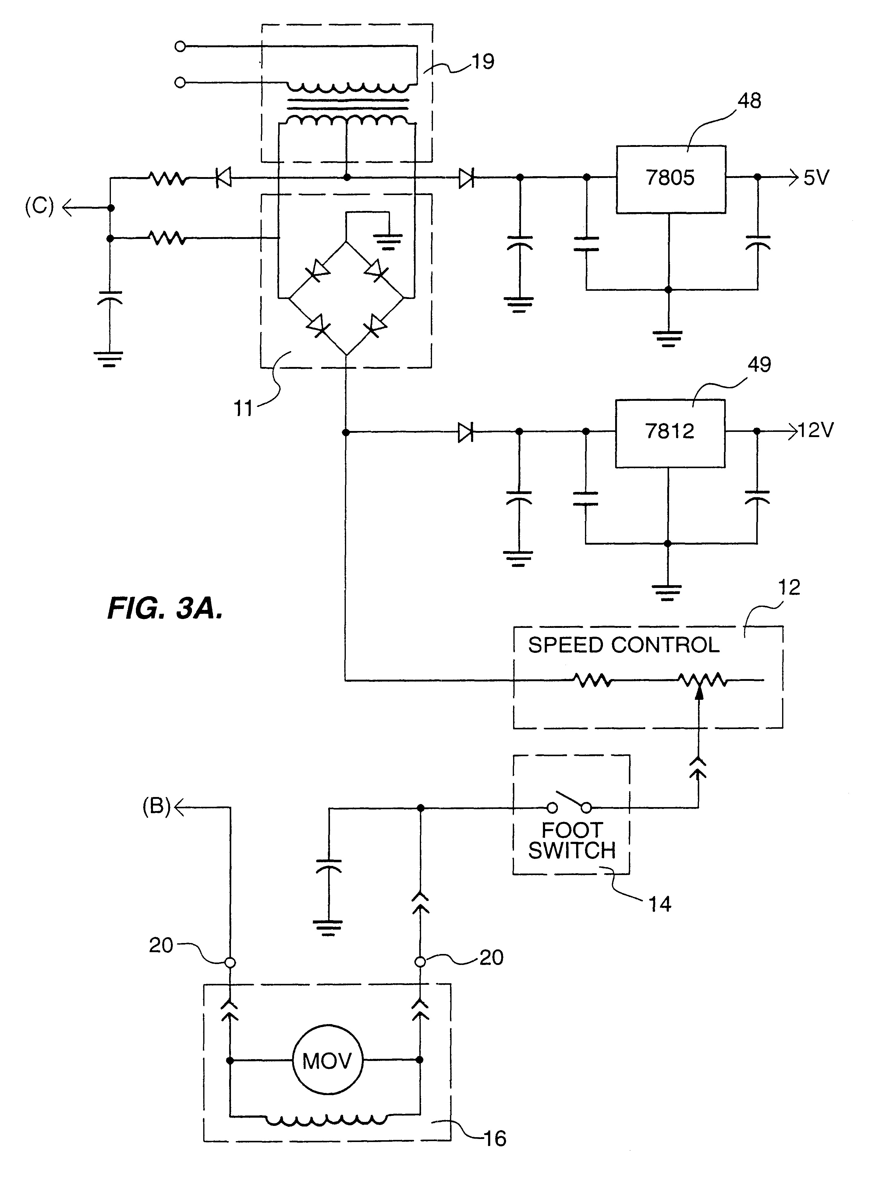 Brevetto Us Drive Circuit For Tattoo Machine Which Patent Drawing basic ponents of electric circuit