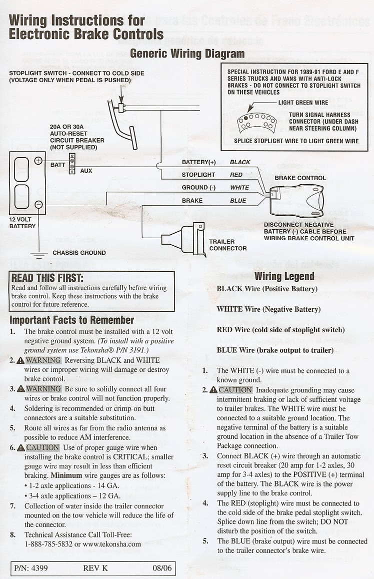 Trailer Running Lights Failure Page 3 Honda Ridgeline Owners In Electric  Brake Controller Wiring Diagram Primus