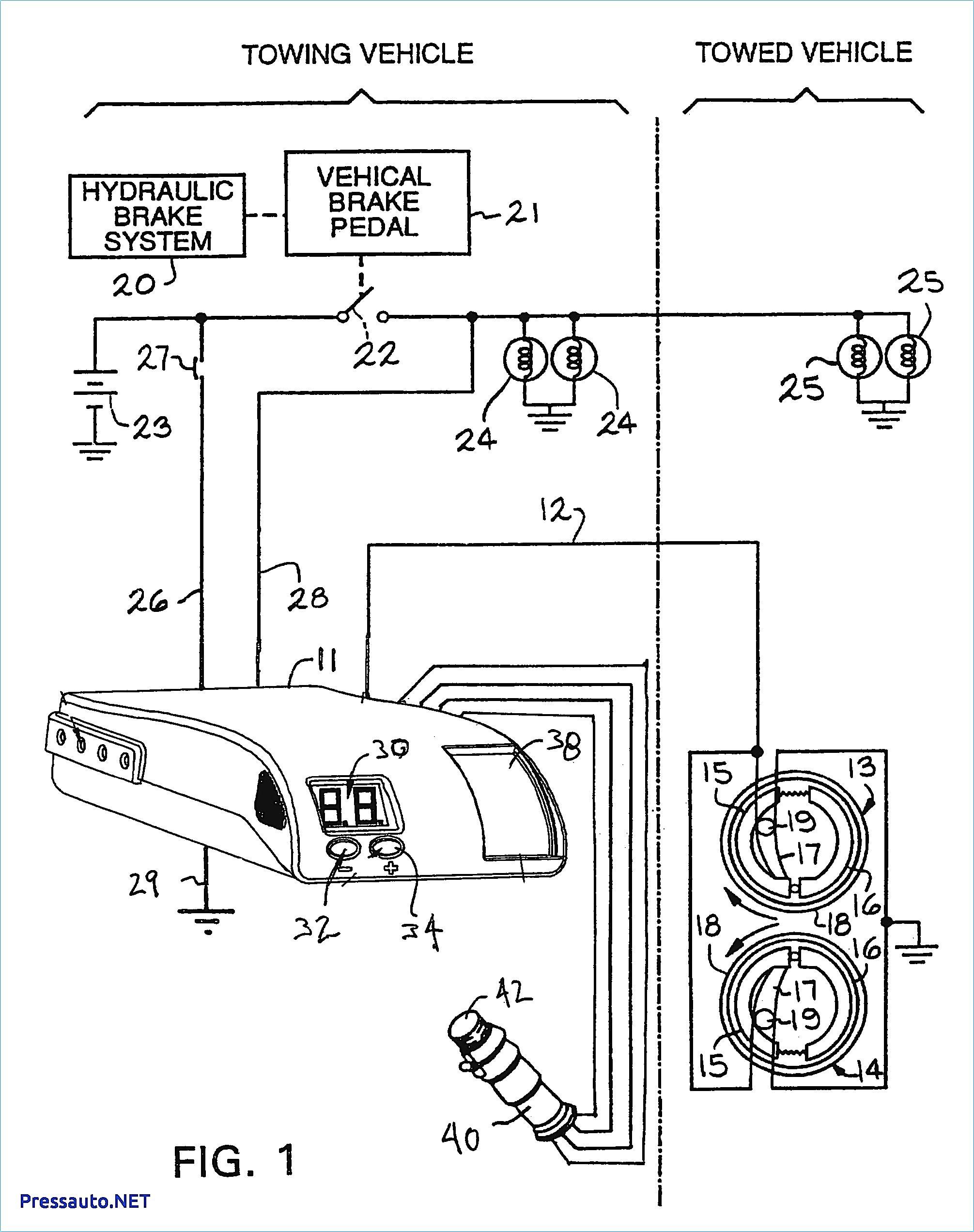 Wiring Diagram For An Electric Brake Controller Copy Tekonsha Best