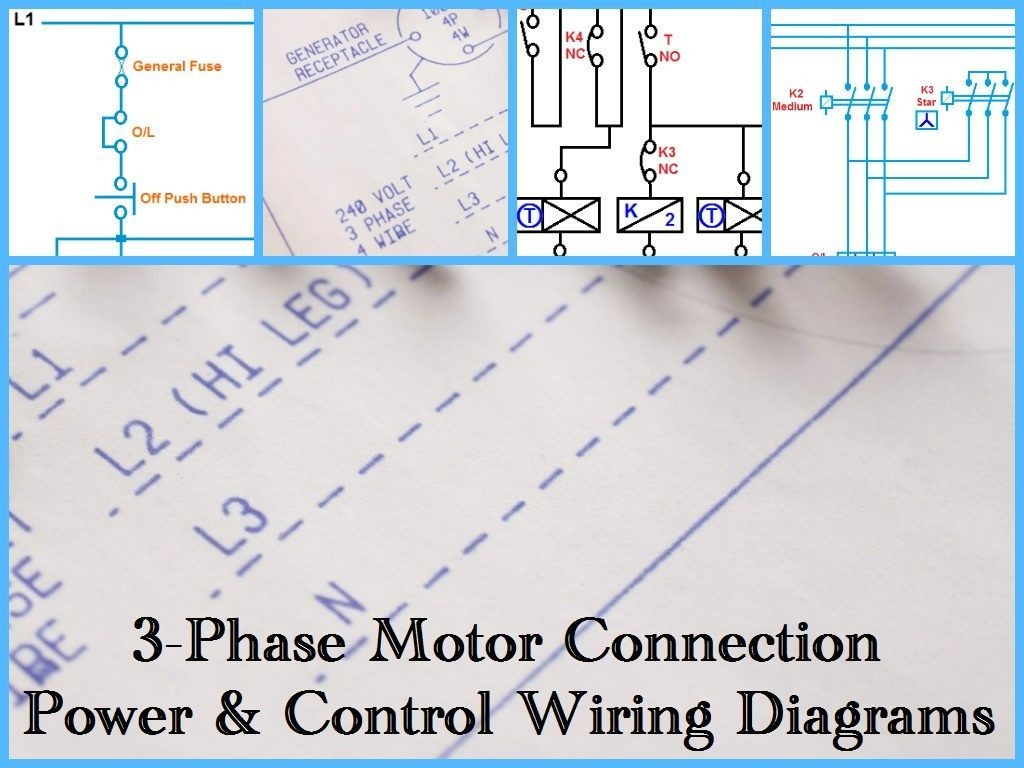 Three Phase Motor Powertrol Wiring Diagrams For Electric Starter Diagram Electrical