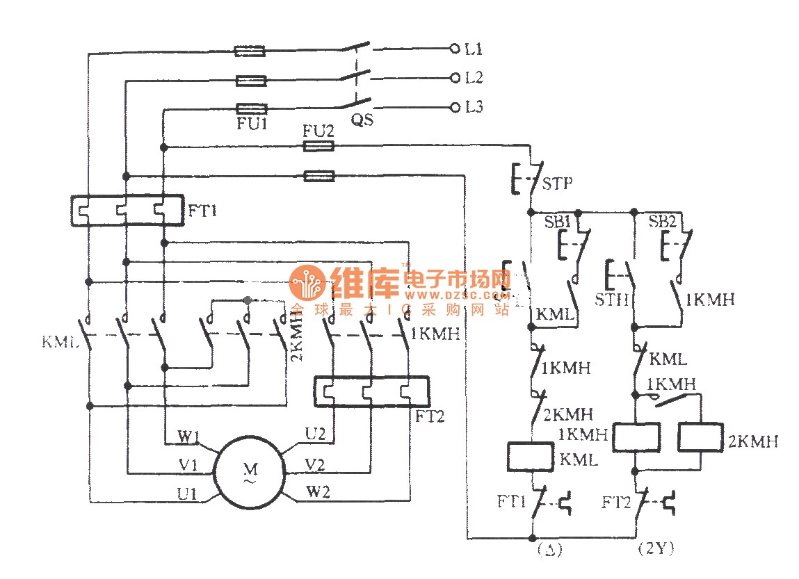 Three Phase Wiring Diagrams Electrical In Motor Diagram 3 At