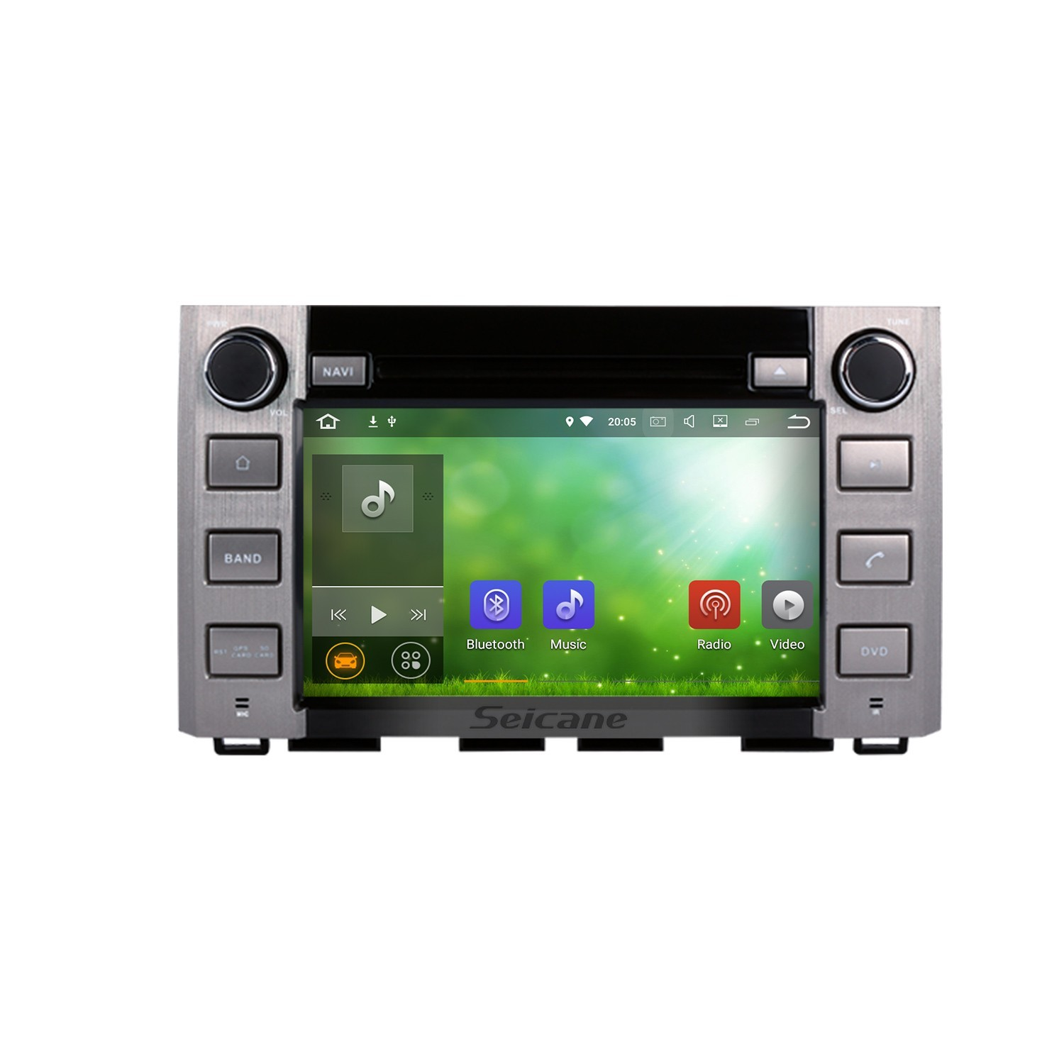 OEM Android 7 1 2014 2015 2016 Toyota Tundra with Aftermarket GPS Navigation DVD Player Car Stereo Touch