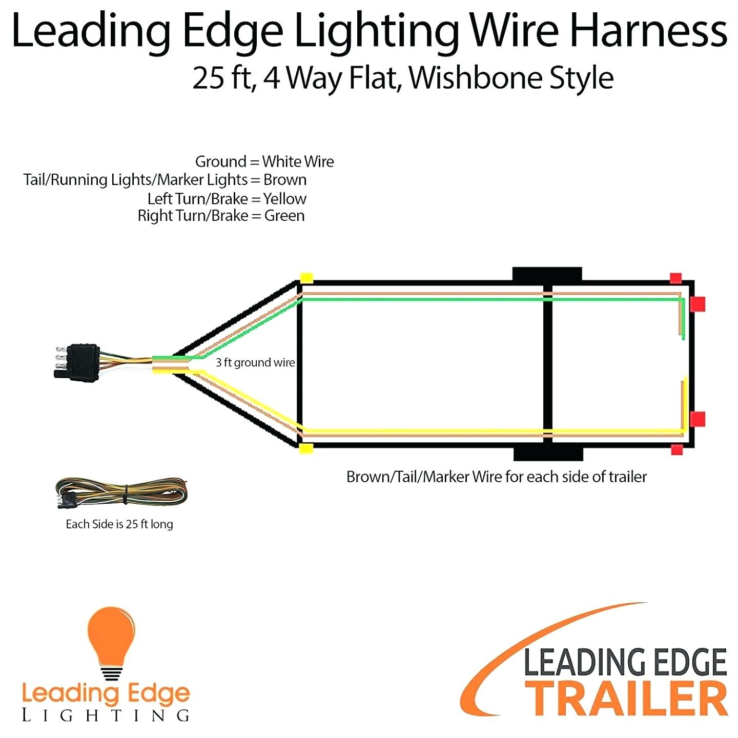 trailer wiring diagram 4 pin flat best of wiring diagram image