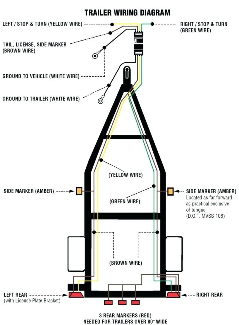 Trailer Wiring Diagram 4 Pin Flat Best Of | Wiring Diagram Image