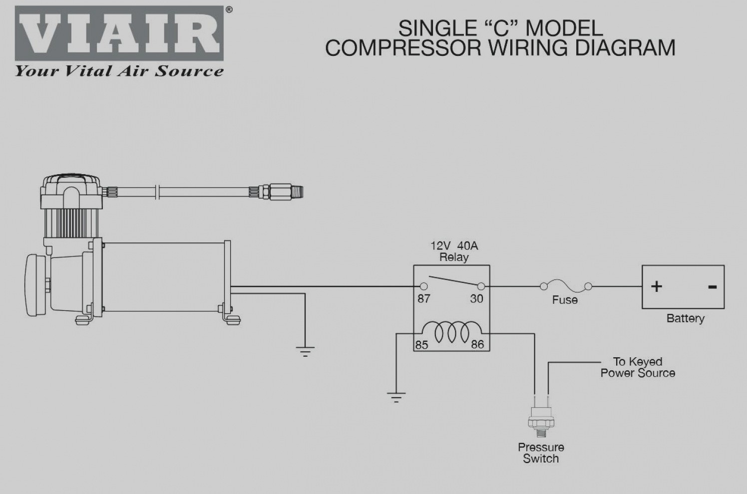 Hadley Air Horn pressor Parts elegant kleinn air horn wiring diagram pretty images the best electrical