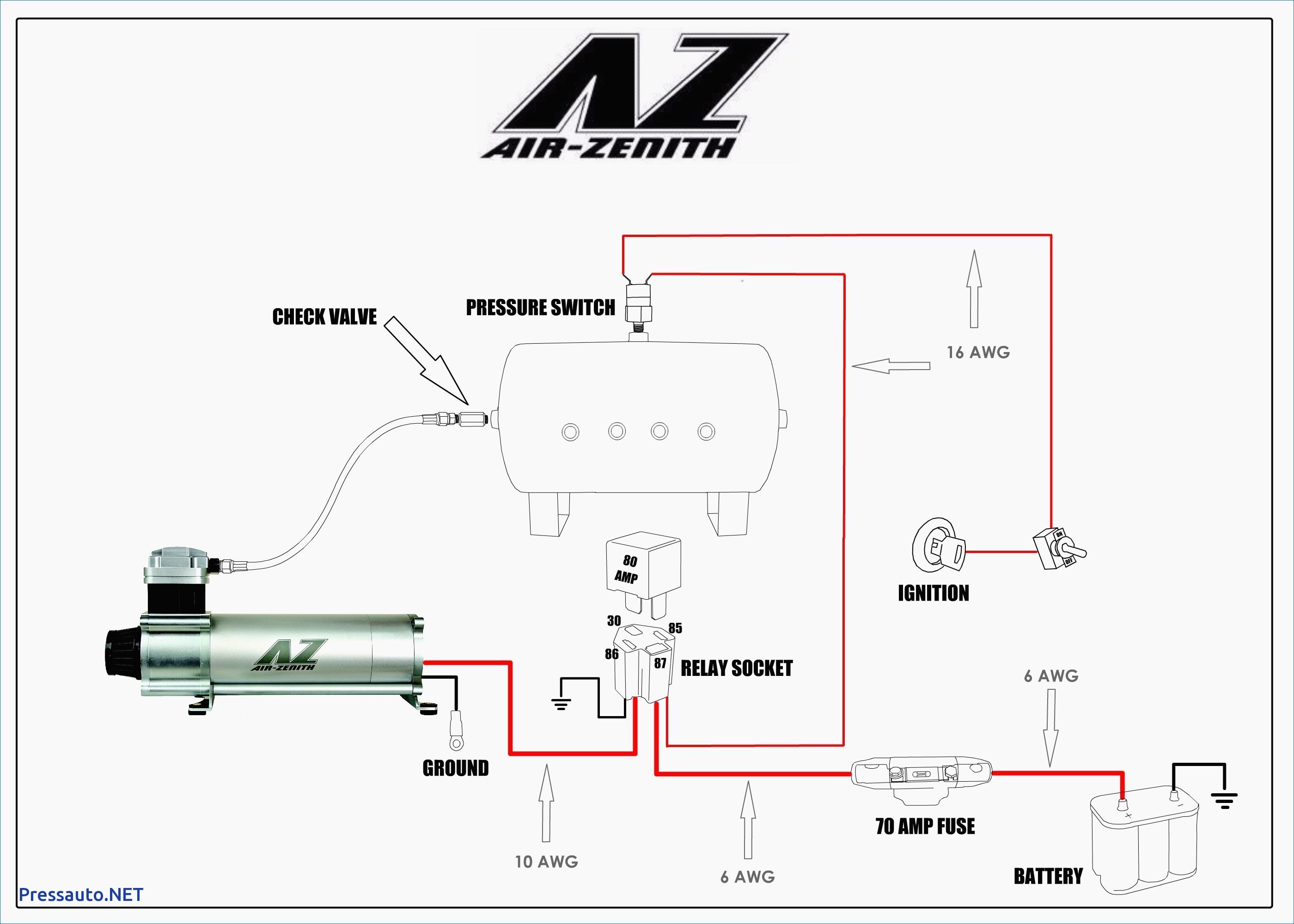 Car Horn Wiring Diagram Fresh Horn Relay Simple Wiring Youtube Throughout Car Air Horn Diagram