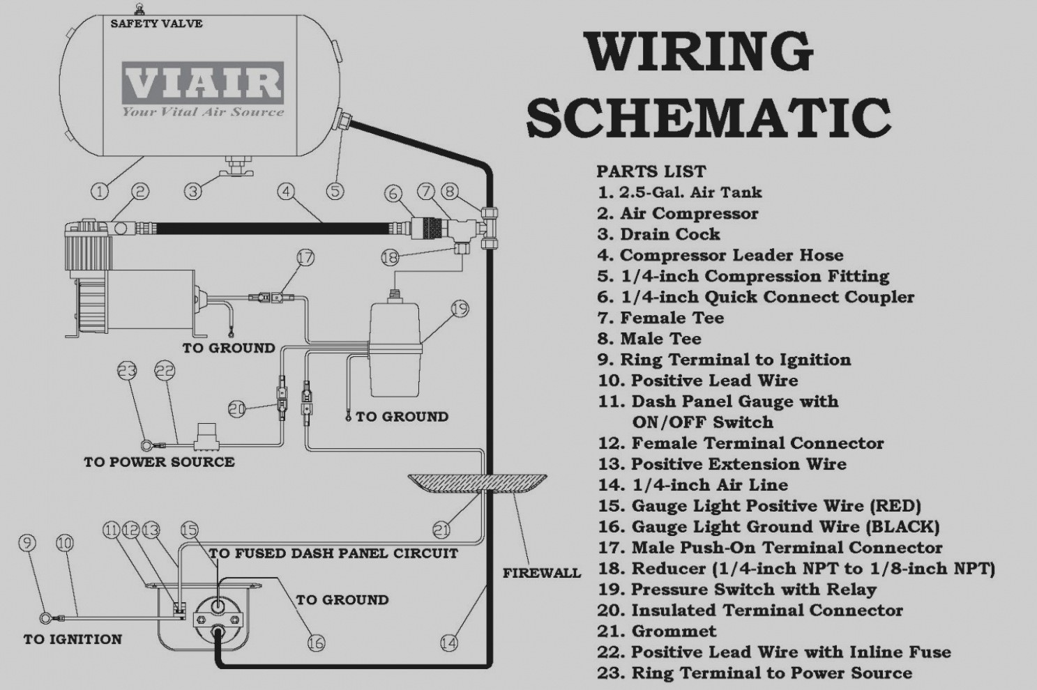 Kleinn Air Horn Wiring Diagram Diagrams Source F250 Wolo Library Power Window Relay