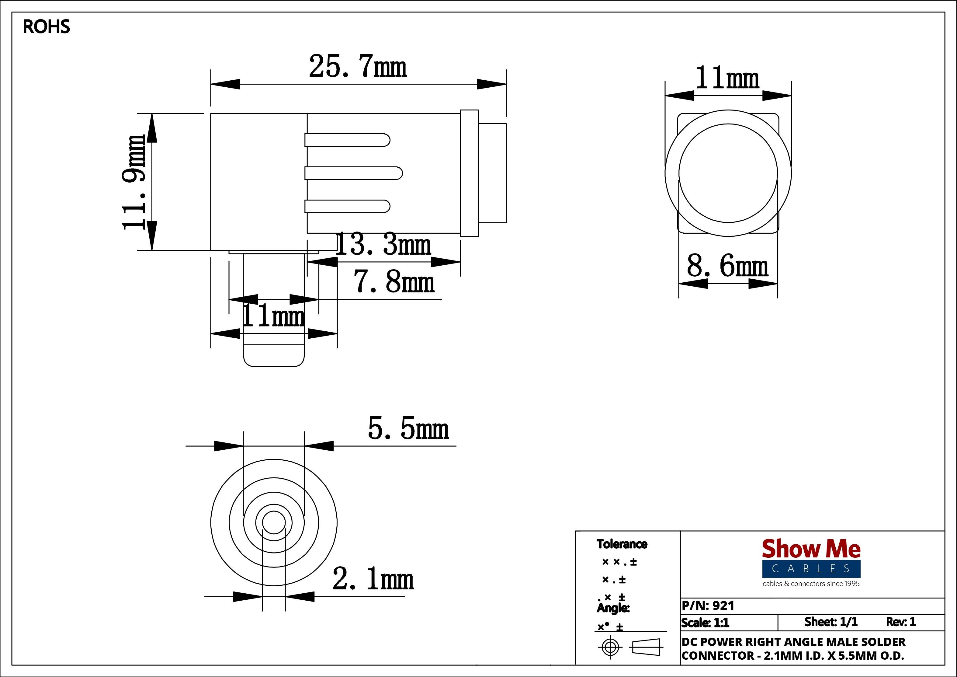 3 5 Mm Jack Wiring Diagram Fresh 2 5mm Id 5 5mm Od Power Connector