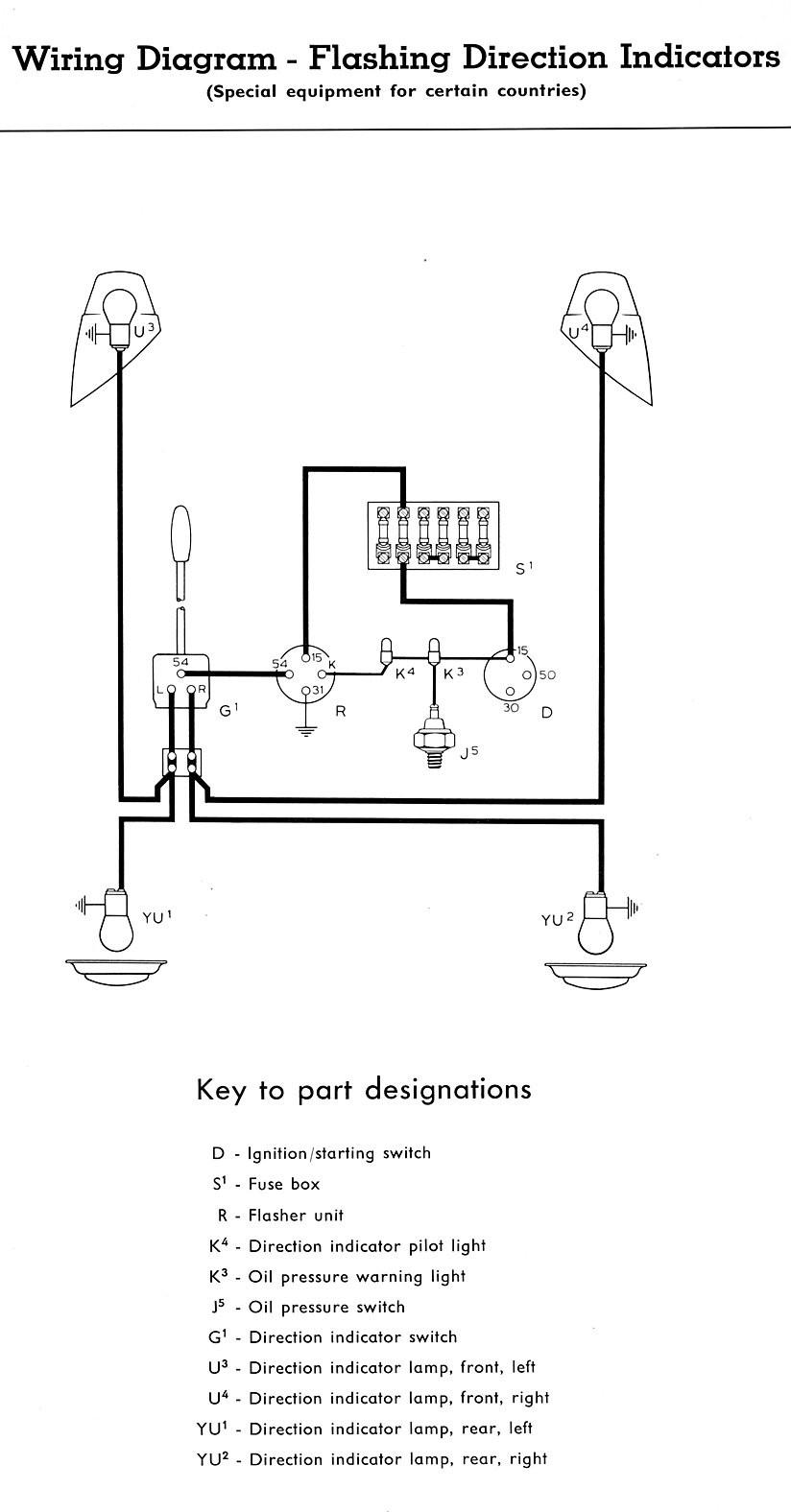 Turn signal wiring