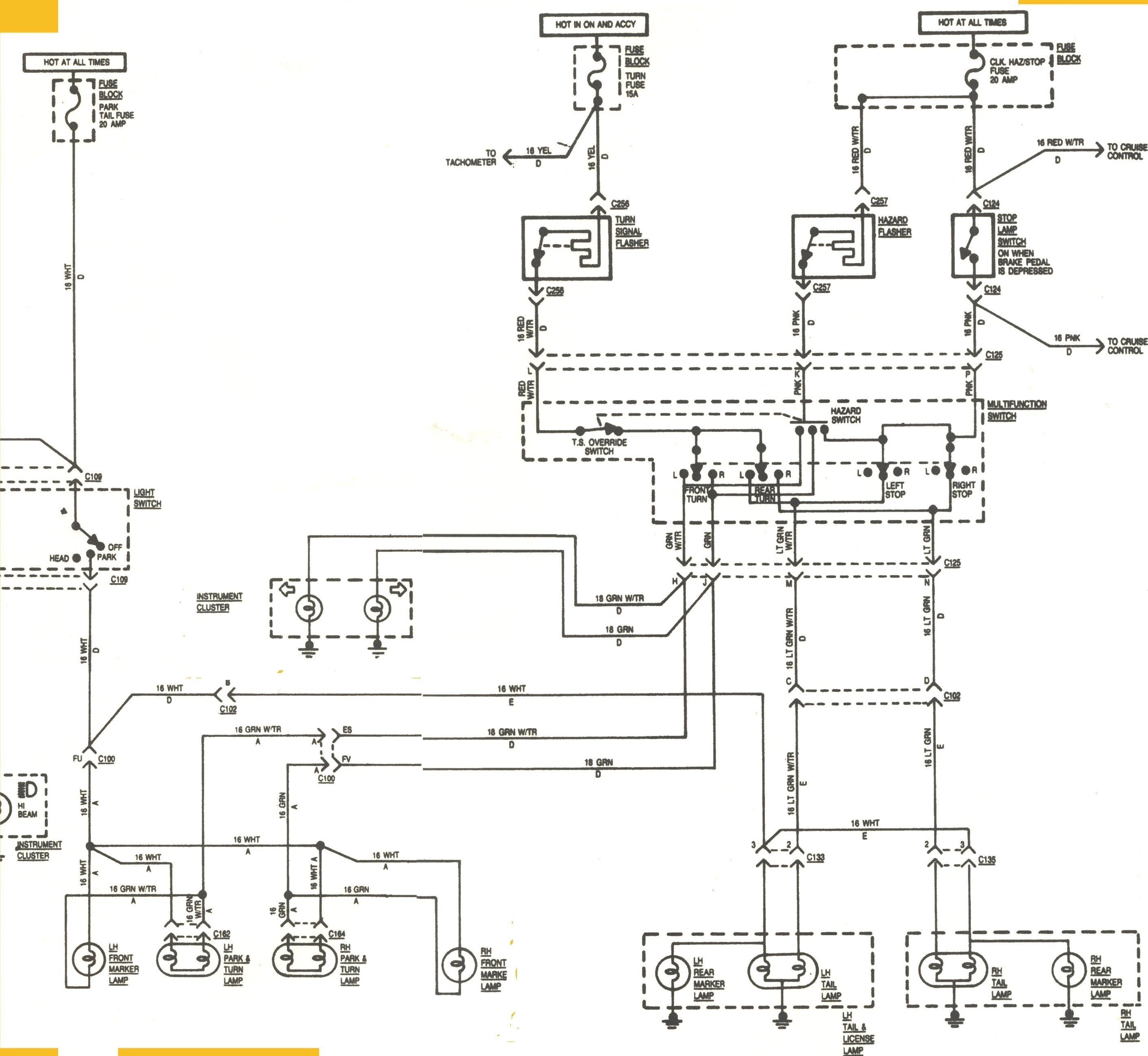 Nice Universal Turn Signal Switch Wiring Diagram Ideas The Best