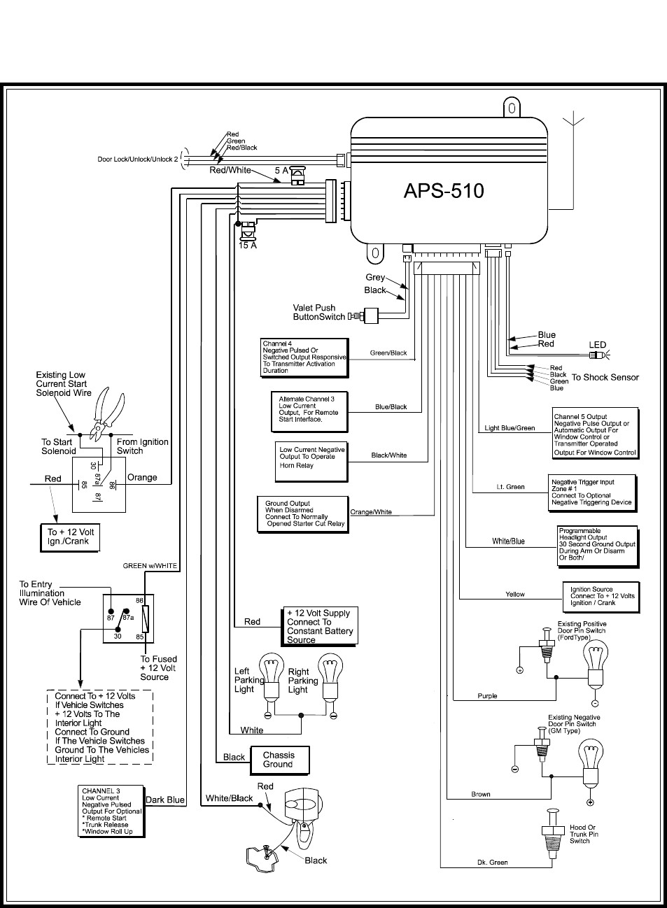 ... Viper 300 Esp Alarm Wiring Diagram Images Gallery