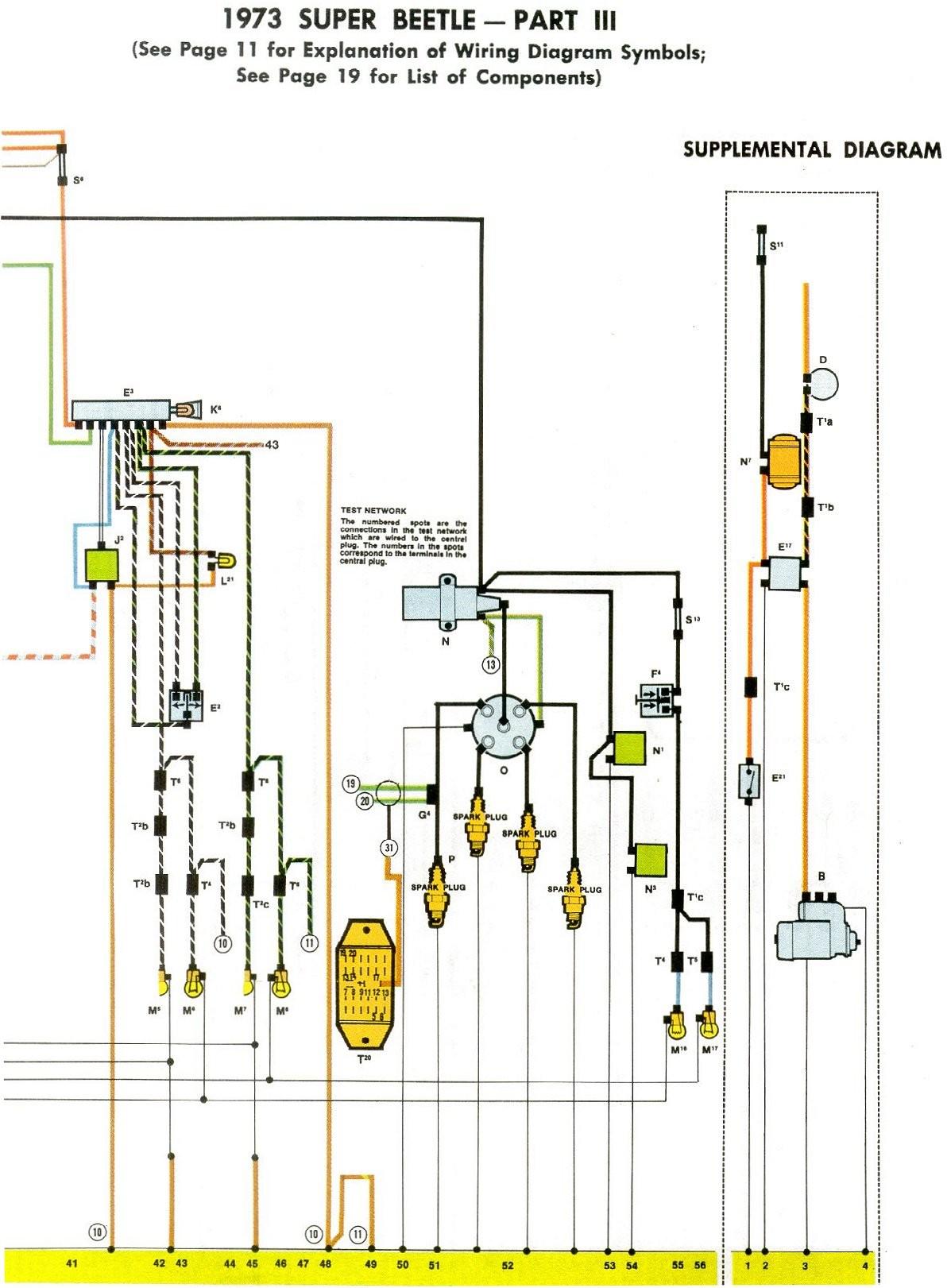 vw beetle starter wiring diagram wiring diagram image vw starter solenoid wire 1973 vw super beetle wiring diagram