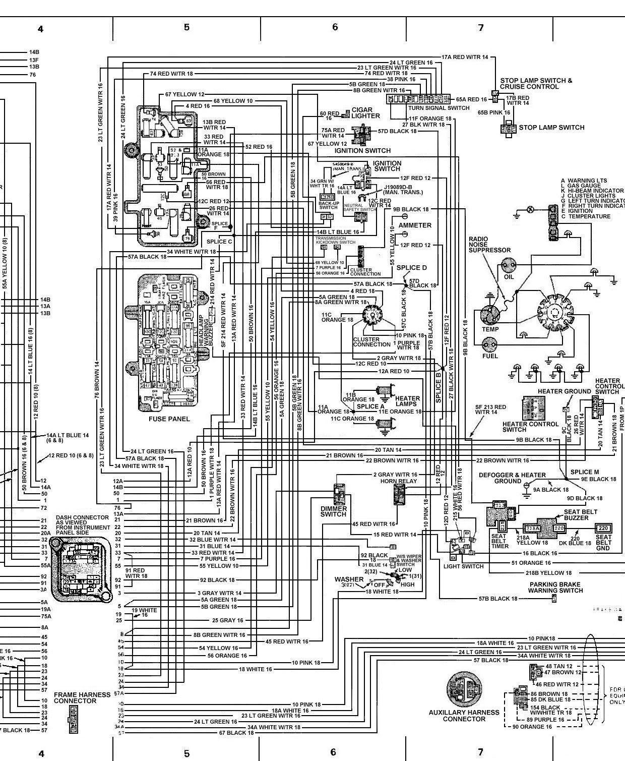 Chevy Wiring Diagrams Schematics