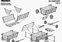 """Wagon Diagram Luxury Diagram Of A Hussite War Wagon"""" O 2 1600—1246"""