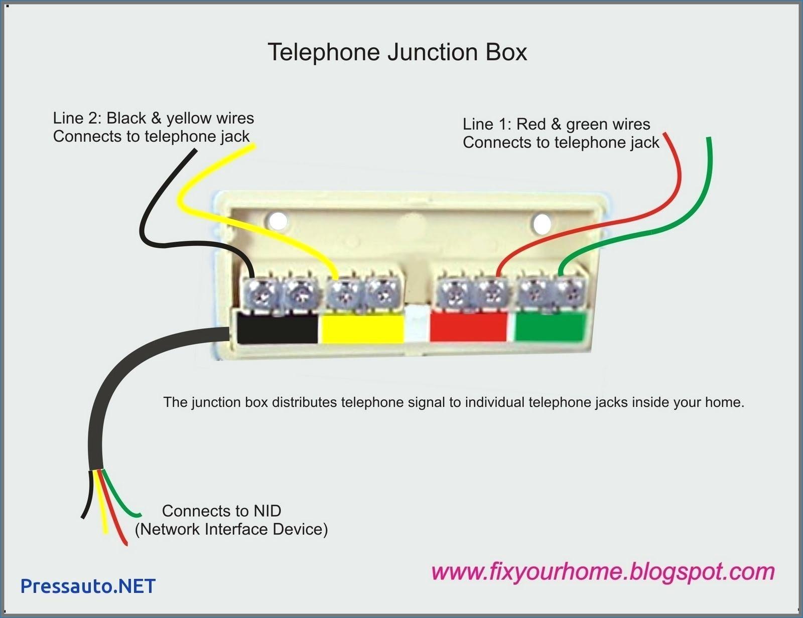Wall Phone Jack Wiring Diagram Best Of Wiring Diagram Image