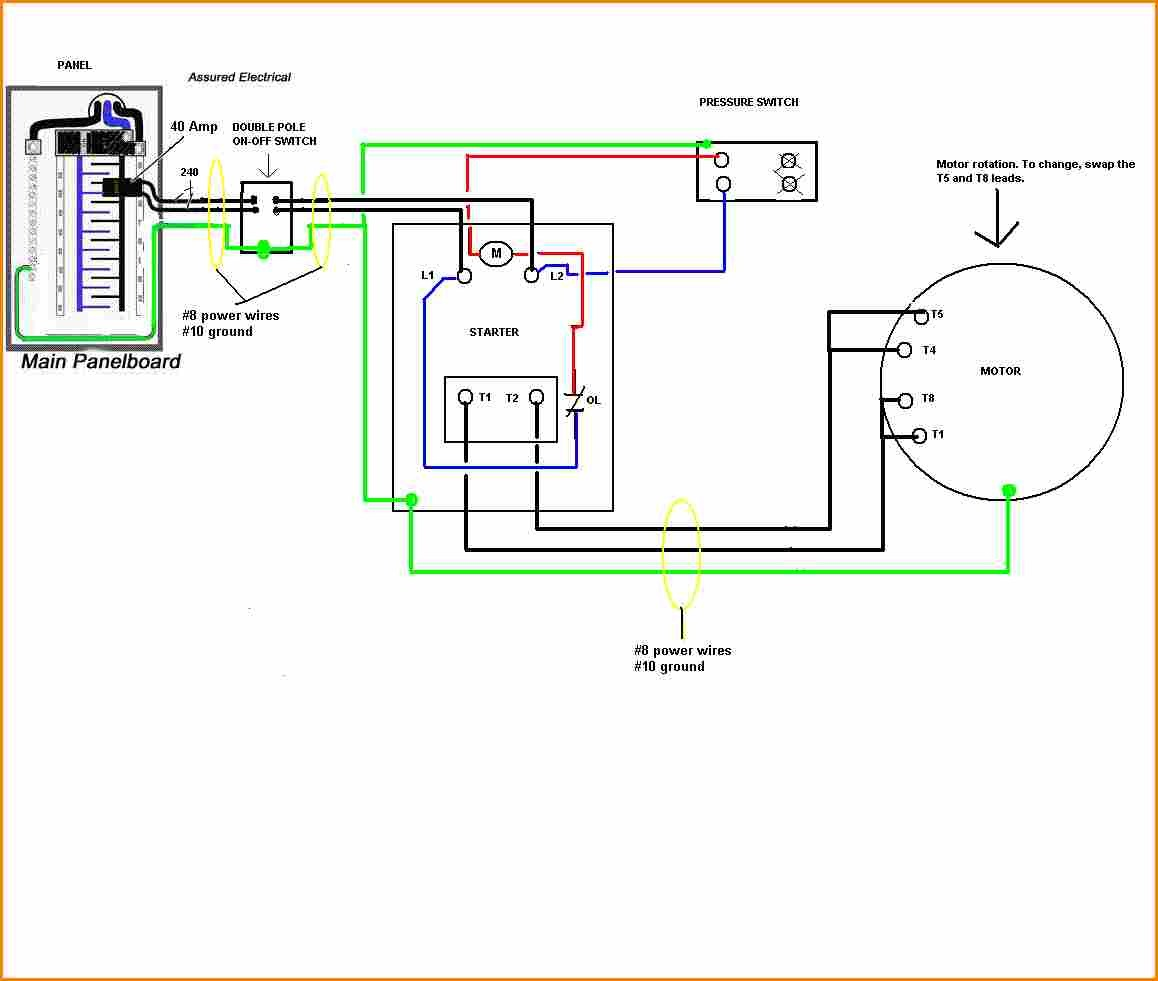 6 Air pressor Pressure Switch Wiring Diagram Fan Wiring