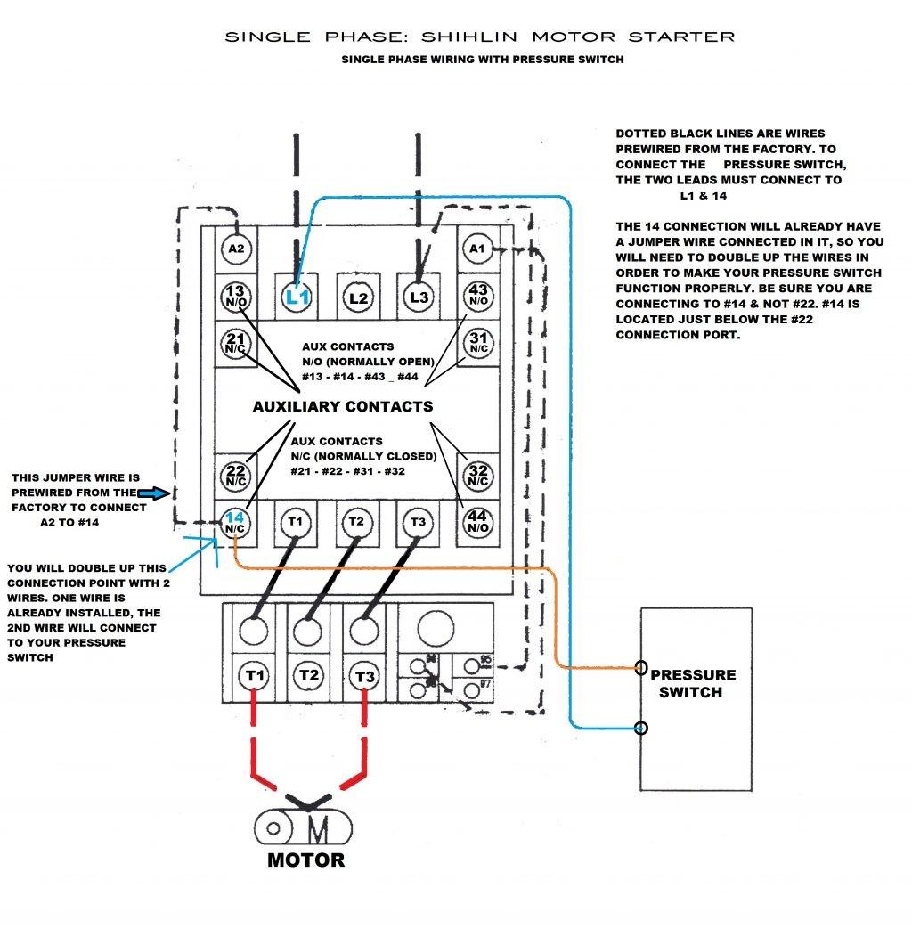 Airor Pressure Switch Wiring Diagram Furnas