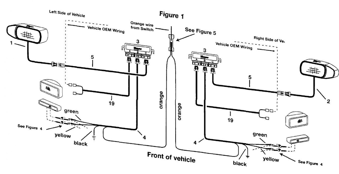 WRG-9914] Western Plow Wiring Diagram 1997 on