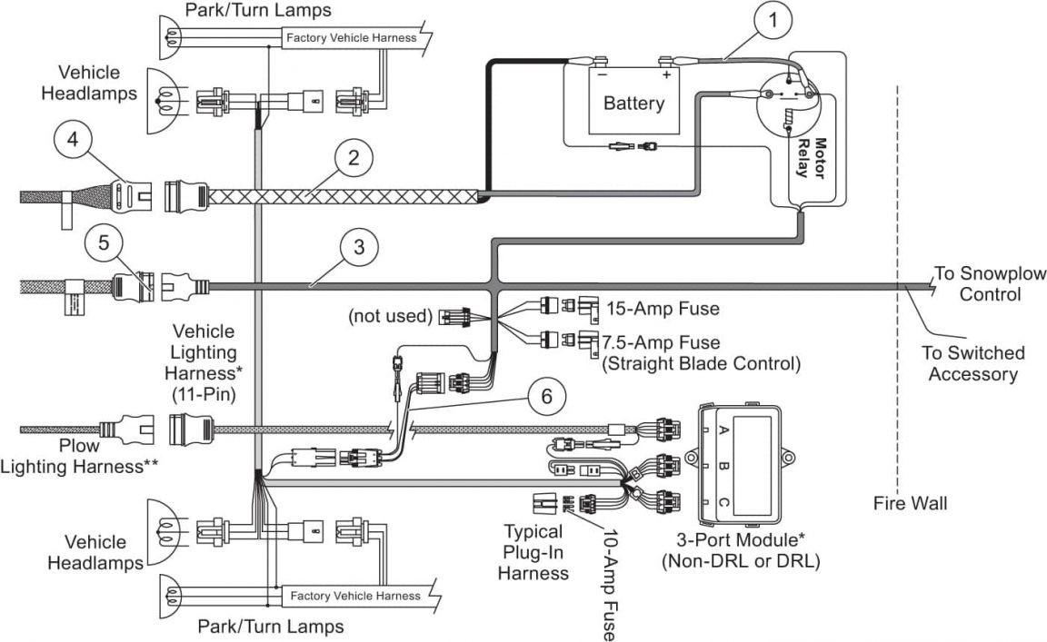 Meyer E 60 Snow Plow Wiring Diagram Dolgular