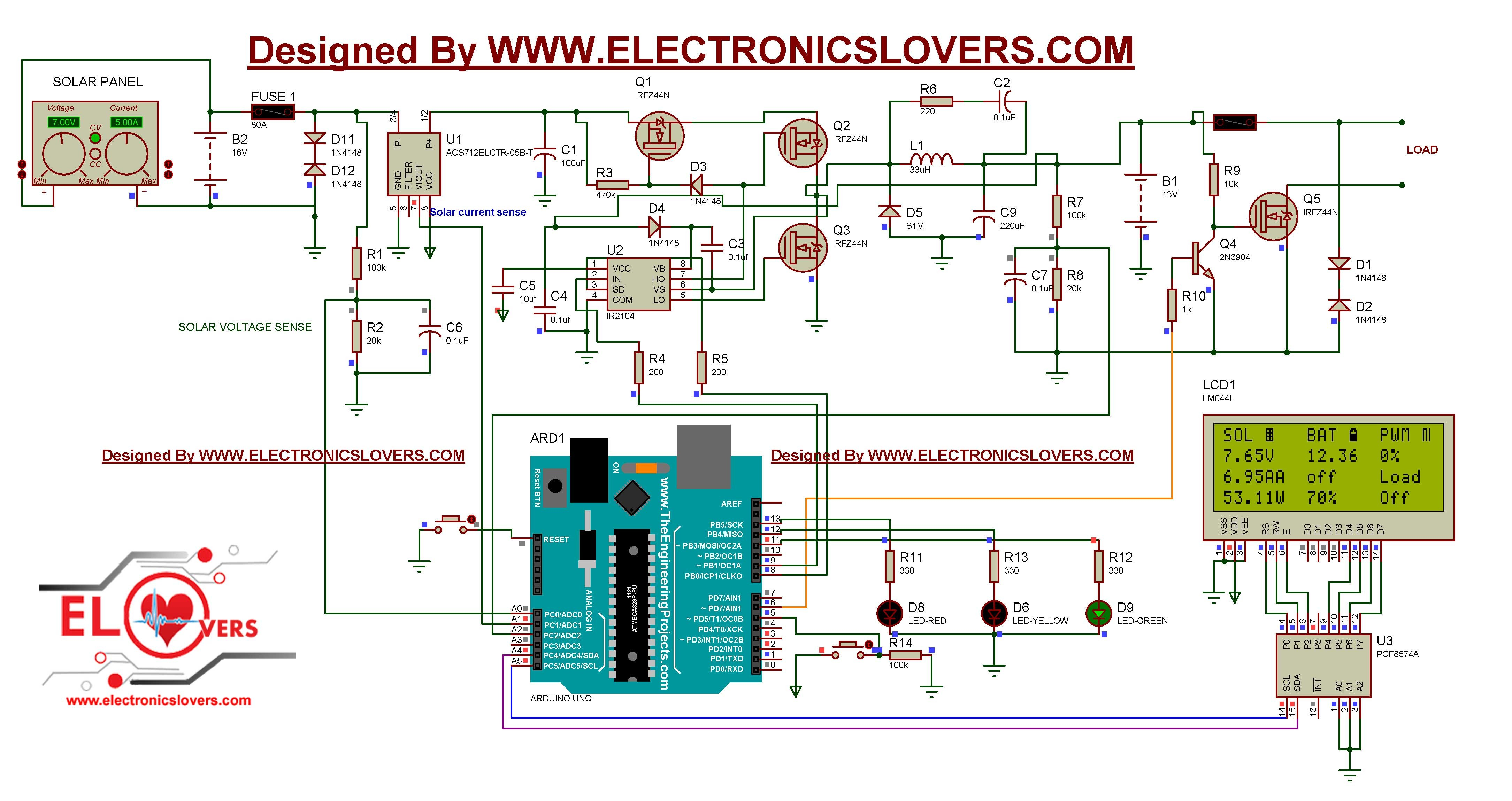 May I know which one is correct schematic circuit for this project