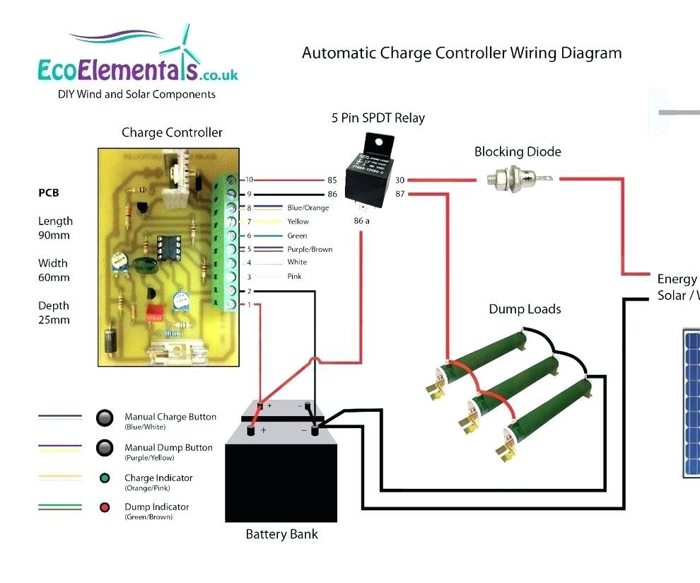 Wind Turbine Charge Controller Circuit Diagram Wiring Image Caravan Solar Panel Full Size Of For 12v Simple